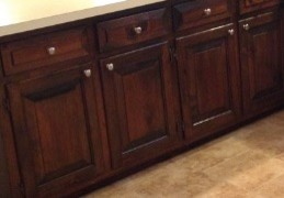 Can i stain pine cabinets darker for Can i stain my kitchen cabinets darker