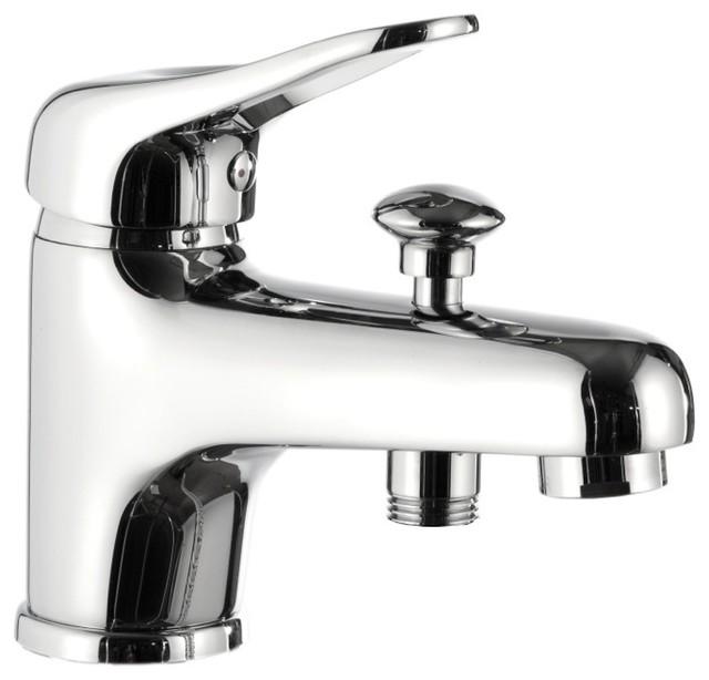 Modern Style Chrome Single-Lever Bath Diverter - Contemporary ...
