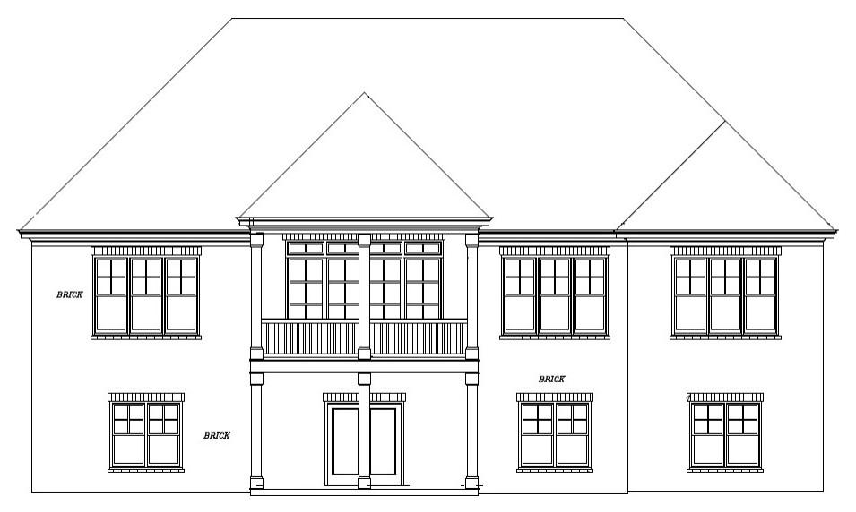 Home design - transitional home design idea in Atlanta
