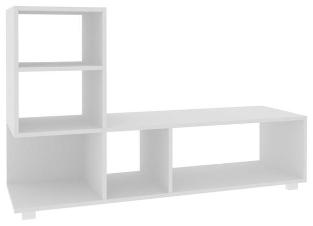 """Lagarto 47.24"""" Bookcase, White"""