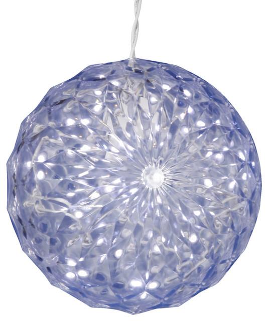 30 Light Led Mu Lighting Crystal Ball Outdoor, Cool White.