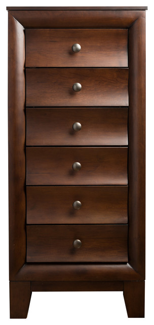 Ashton Walnut Jewelry Armoire 1000 Jewelry Box