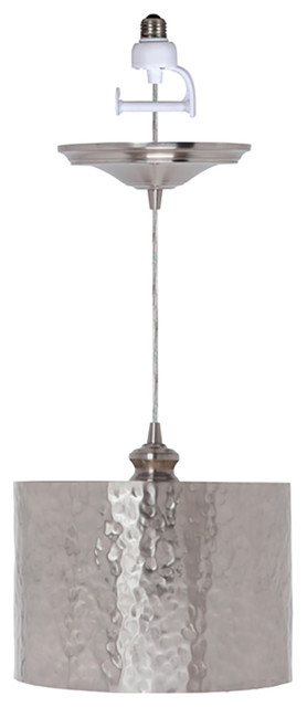 Worth Home Products Recessed Light Conversion Kit Hammered Drum