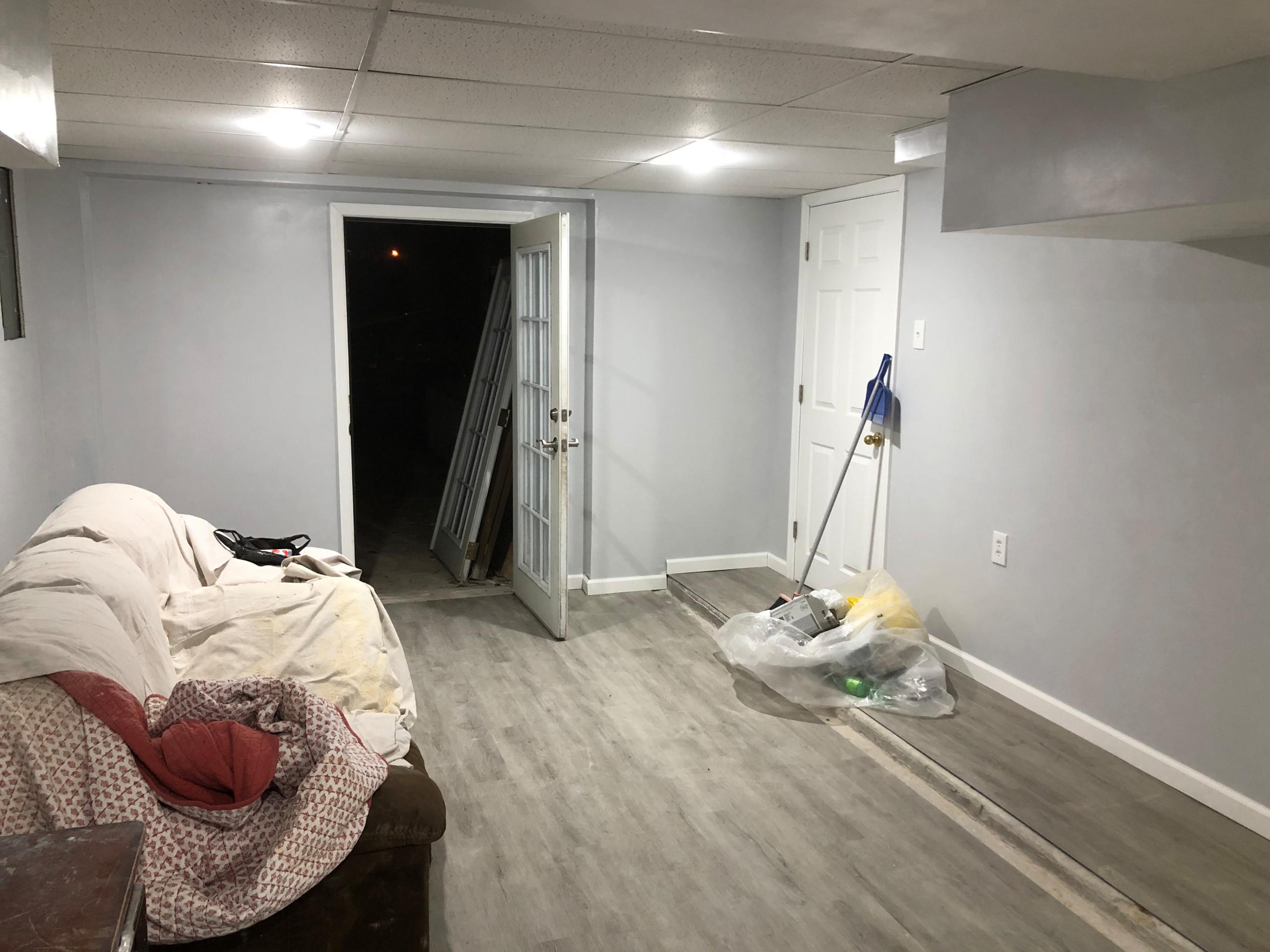Basement Remodel Project