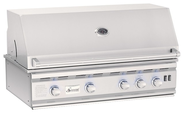 "Summerset Grills 38"" Trl Stainless Steel Natural Gas Grill."