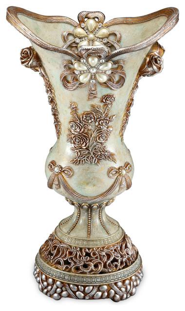 Vintage Rose Vase Victorian Vases By Ok Lighting