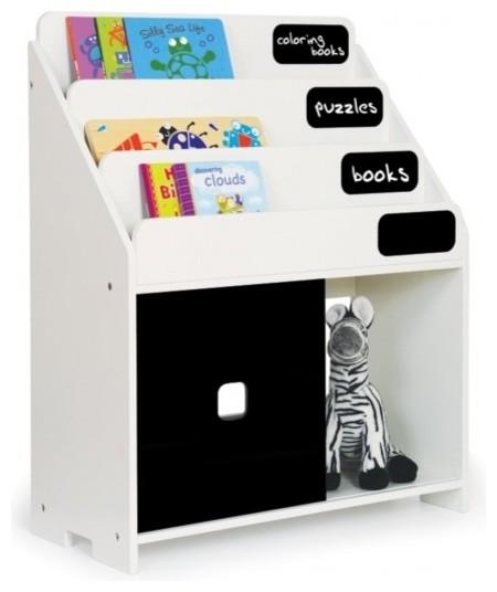 Pkolino Playful Bookshelf, White