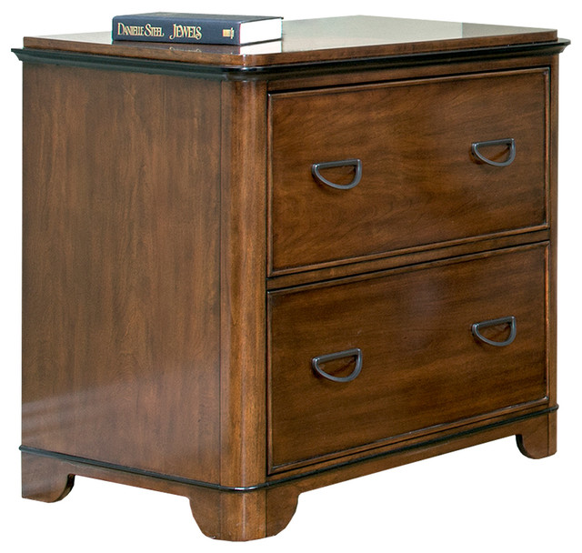 Kensington Lateral File Cabinet - Transitional - Filing Cabinets - by Martin Main