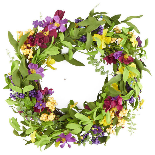 Wildflower Wreath.