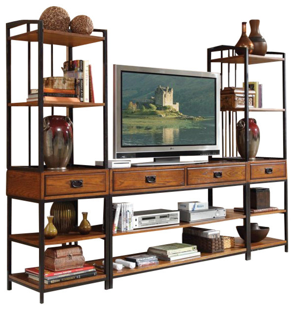 Awesome Home Styles Modern Crafts 3 Piece Gaming Entertainment Center Entertainment  Centers And