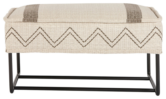 A.R.T. Home Furnishings Epicenters Austin Ottoman