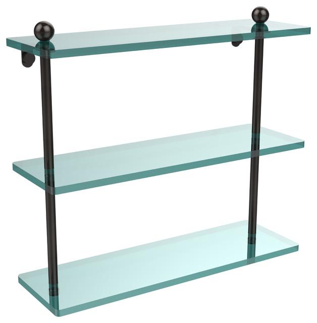 triple glass shelf bathroom | My Web Value