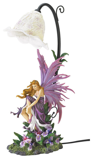 Koehler   Koehler Orchid Fairy Table Lamp   Table Lamps
