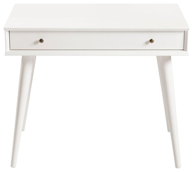 Mid Century Desk White