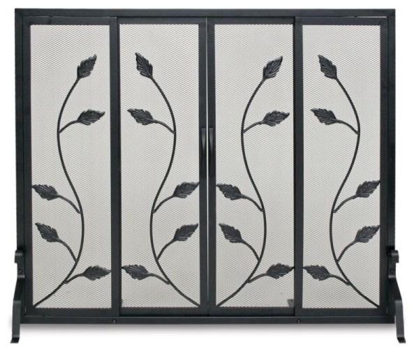 Flat Garden Vine Screen With Sliding Doors.
