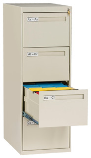 ... File Cabinet - Contemporary - Filing Cabinets - by Tennsco Corp