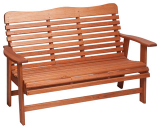 Awe Inspiring Hinkle Chair Cinnamon Finish Red Grandis 950 Style 4 Bench Craftsman Outdoor Benches By Hinkle Chair Co Inc Pabps2019 Chair Design Images Pabps2019Com