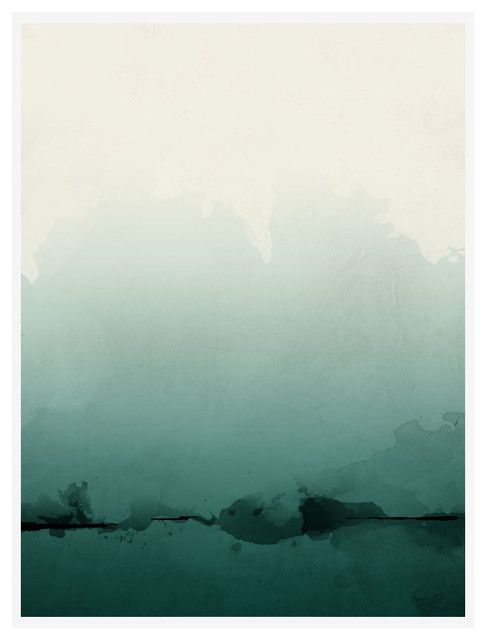 """""""Solitude Is Bliss"""" Abstract Art Print, Print Only, 30x40 cm"""