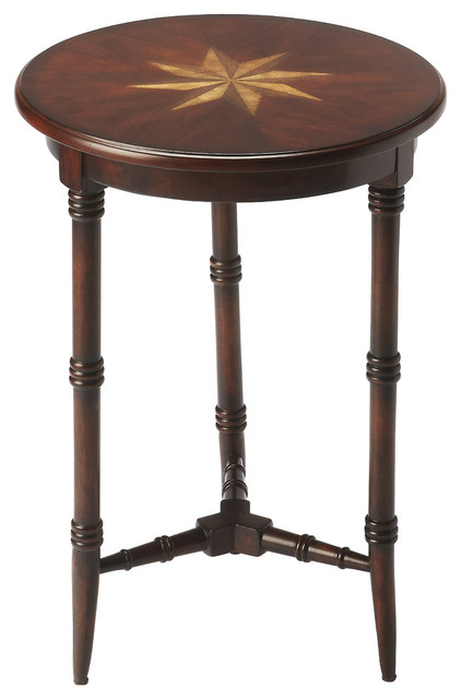 Butler Isla Plantation Cherry Accent Table.