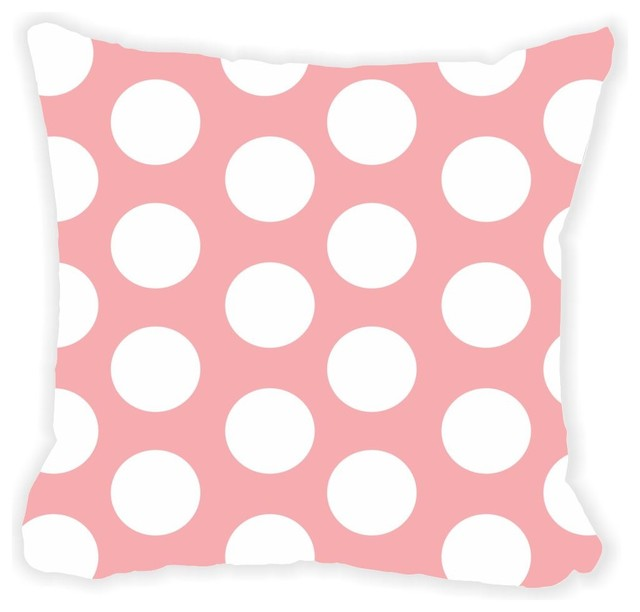 Shop Houzz Rikki Knight LLC Polka Dots Double-Sided 16