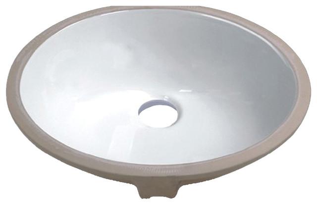 """Bathroom Sinks Porcelain vanity fantasies """"lotus"""" porcelain oval undermount vanity sink"""
