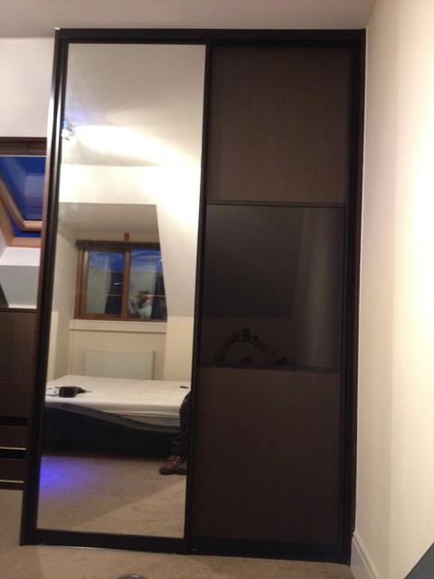 Attic Sliding Door Wardrobes & drawer chest -made to measure-Frenchwood, Preston - Modern ...