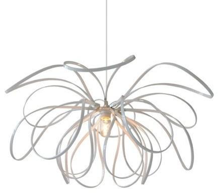 Sarita Pendant Lamp, White.