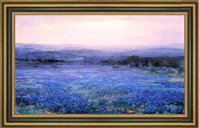 Julian Onderdonk Panoramic Landscape Framed Premium Canvas Print ...