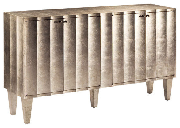 Fluted Cabinet.