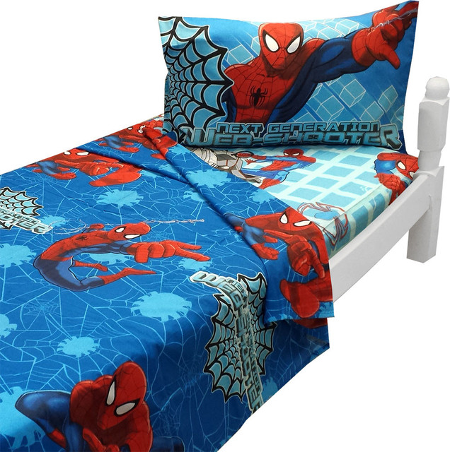 Ultimate Spider Man Twin Sheet Set Marvel Bedding