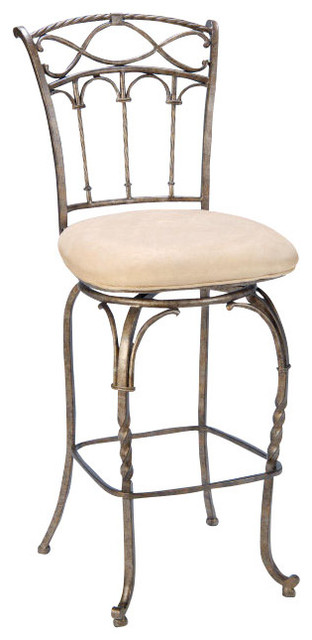 Hillsdale Kendall Stool Mediterranean Bar Stools And Counter