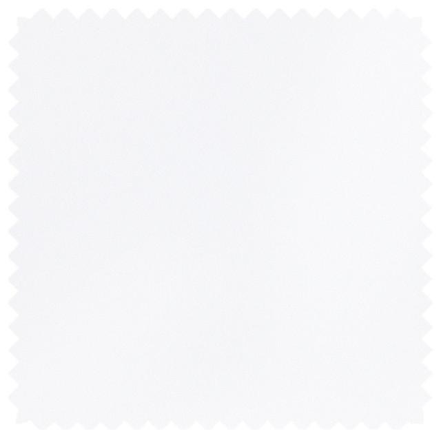 Deluxe Roman Shades Plain Fold, 24wx36h Lexi White.