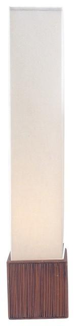 Sebu Floor Lantern, White.