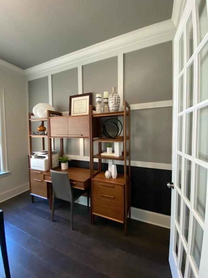 Glass Double Door Office