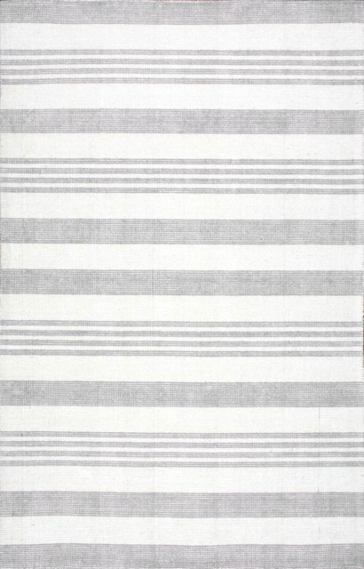 Hand Tufted Epiphany Eu15 Stripes Rug Contemporary Area Rugs