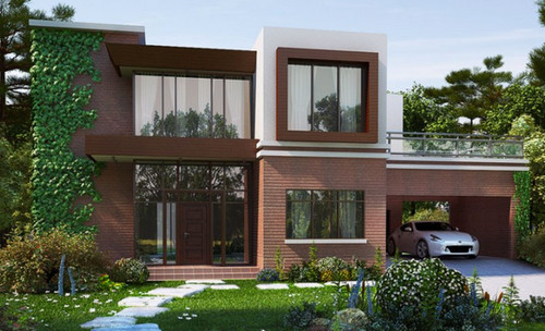 We have a mansard roof facade and desperately want to for Modern mansard roof