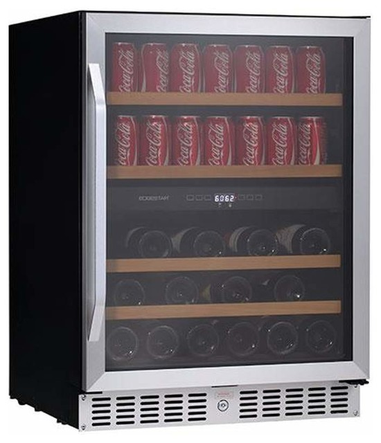 Shop houzz edgestar edgestar cwb8420dz wine and beverage for Beer and wine cooler table