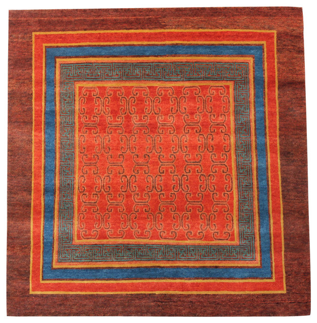 Traditional Tibetan Rug 5x6 Area Rugs By A Rug For