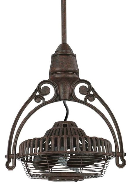 Fanimation Old Havana Ceiling Mount, Rust - Fph81rs.