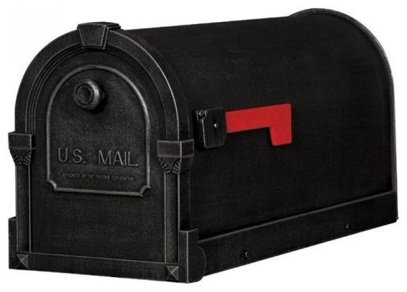 Savannah Curbside Mailbox Scs 1014 Blk