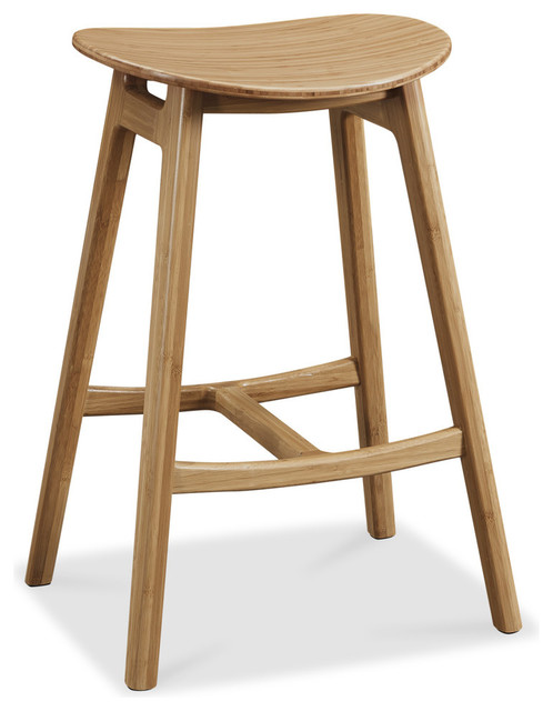 Skol Bar Height Stool, Caramelized, Set Of 2.