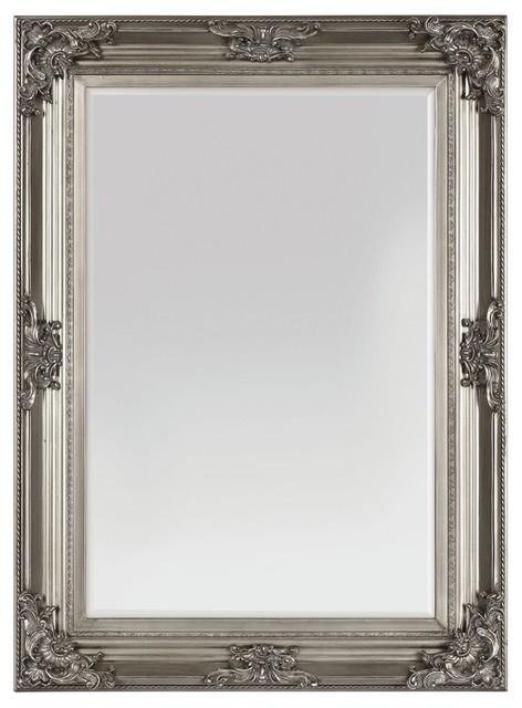 Beaumont Antique Silver Mirror.