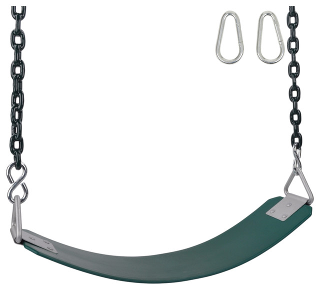 Amazing Commercial Rubber Belt Seat With 8 5 Coated Chain Green Ocoug Best Dining Table And Chair Ideas Images Ocougorg