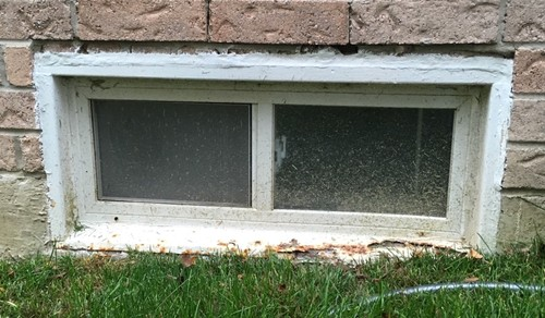 Basement Window Replacement   What To Do About Rusty Metal Frame?