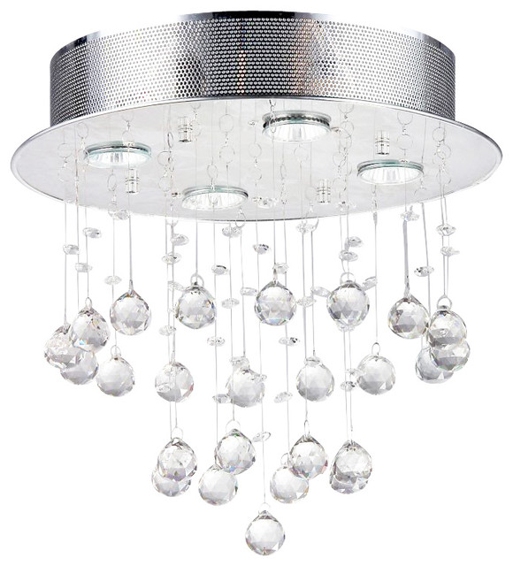 Perfect Contemporary Flush mount Ceiling Lighting by Warehouse of Tiffany Inc