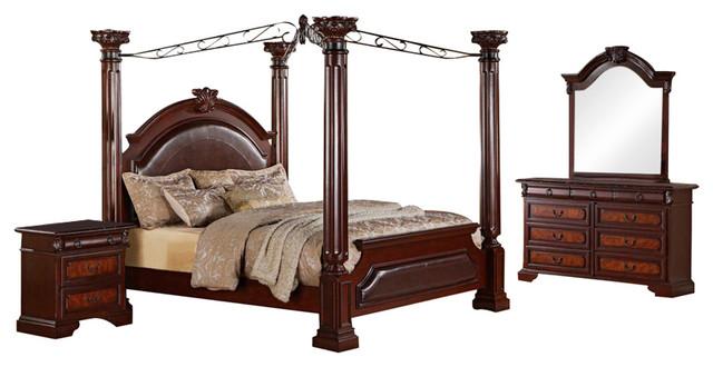 Shop Houzz Crown Mark Crown Mark Neo Renaissance Bedroom