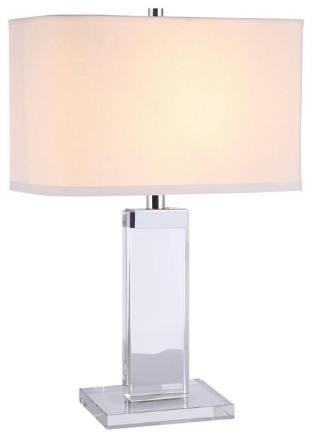 Regina 1-Light Table Lamps, Chrome.