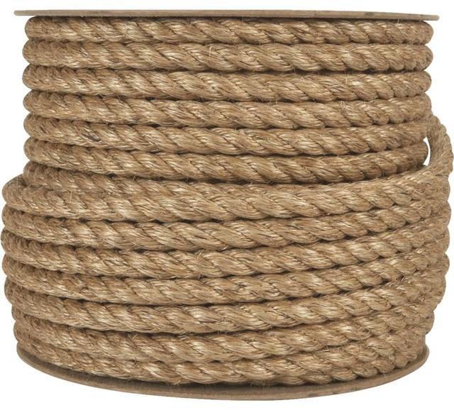 "Aamstrand Rope/Twine Manila Rope, 5/8""x120'"