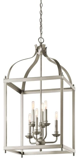 Traditional Foyer Questions : Kichler lighting ni larkin traditional foyer