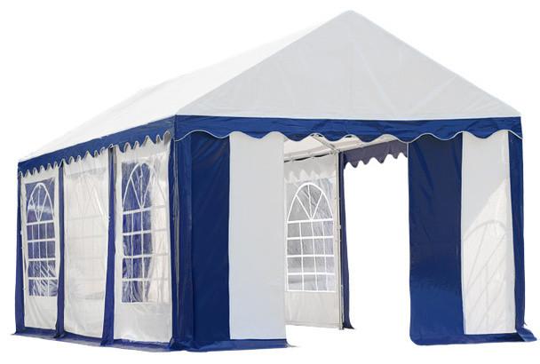 10&x27;x20&x27;/ 3x6m Party Tent Blue/white Enclosure Kit With Windows.